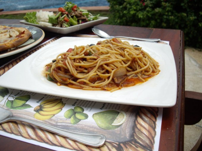 Как сделать макароны по-неаполитански