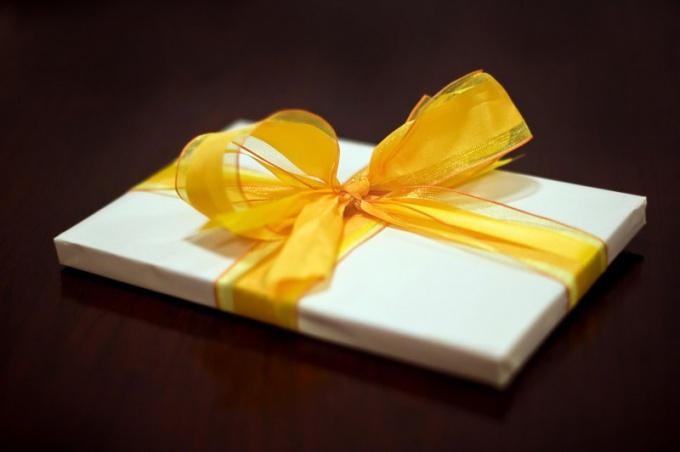 Как подготовить подарок на день рождения