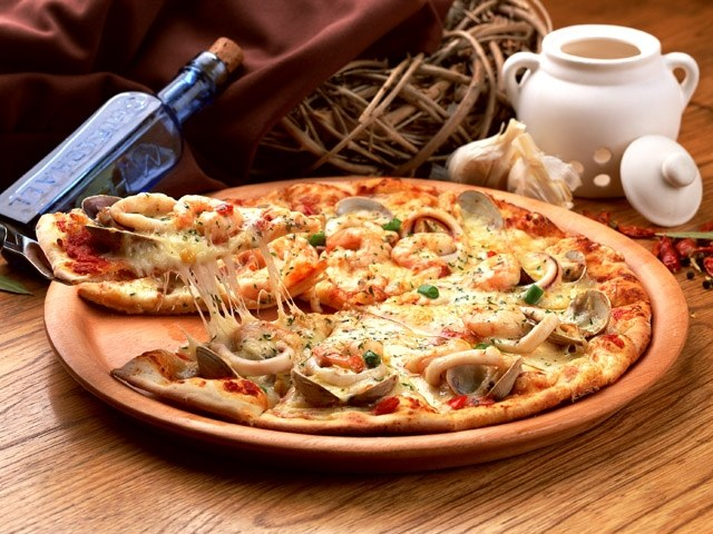 Как приготовить пиццу с грибами и шпинатом