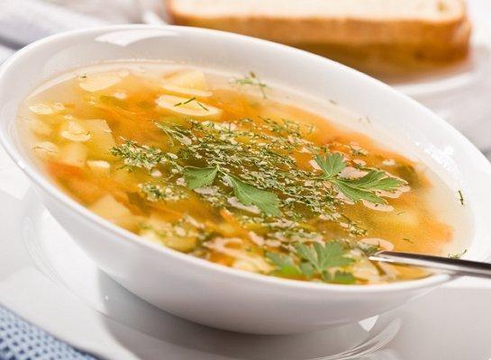 Как приготовить куриный суп с грибами