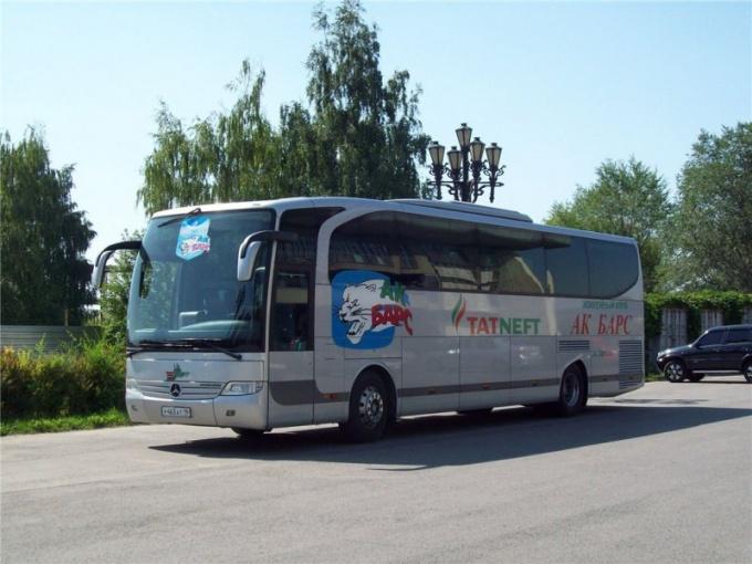 Как ходит автобус в Казань