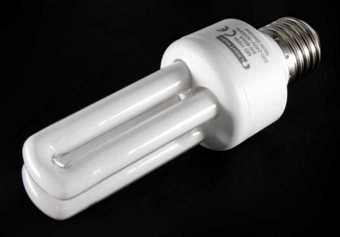 Как работает лампа дневного света
