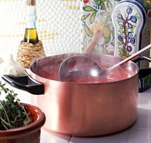 Как приготовить суп-пюре из свеклы с копченым угрем