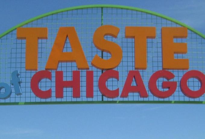 """Как проходит фестиваль """"Вкус Чикаго"""""""
