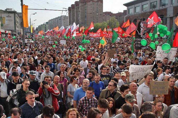 Как прошел «Марш миллионов» 12 июня 2012 года
