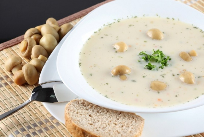 How to make mushroom soup