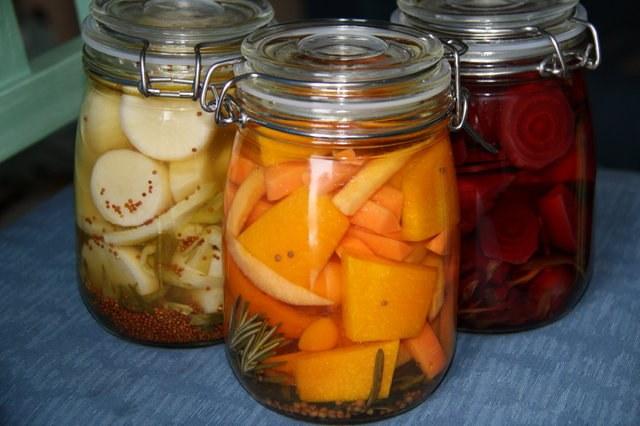 Как сделать овощную смесь в маринаде