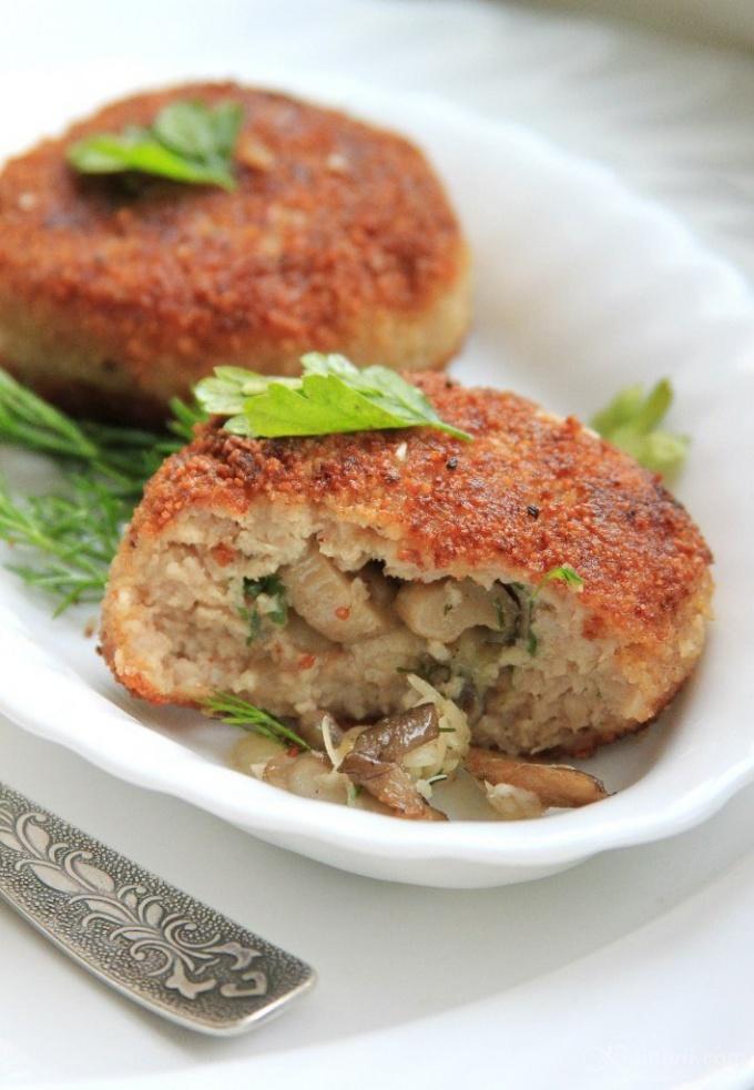 Блюда из белых грибов духовке рецепты