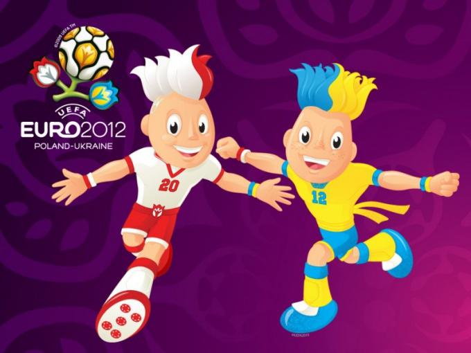 Кто сыграл в полуфинальных матчах Евро 2012