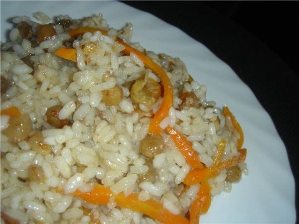 How to cook pilaf with rabbit meat