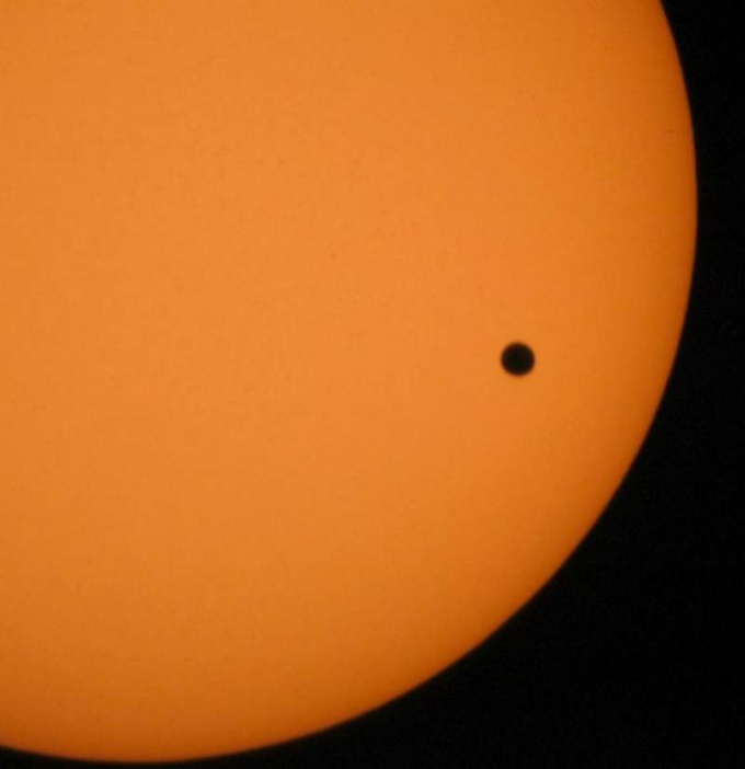 Что такое прохождение Венеры по диску Солнца