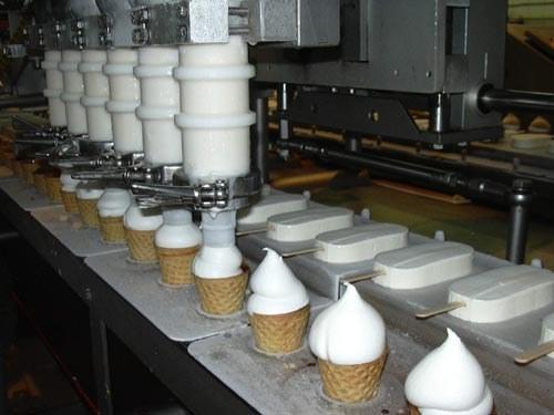 Как работают машины для производства мороженого