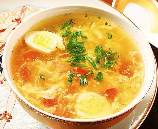 Как приготовить рыбный суп с яйцом