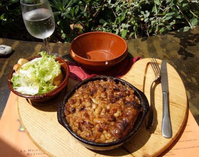Как приготовить баранину с фасолью по-тулузски