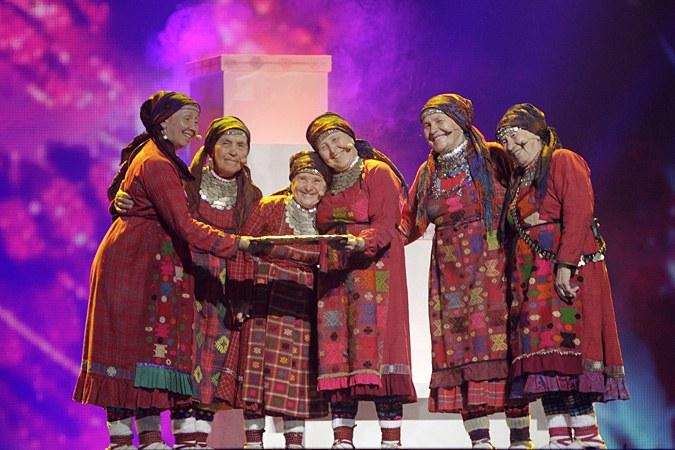 """Как выступили """"Бурановские бабушки"""" на конкурсе Евровидение"""
