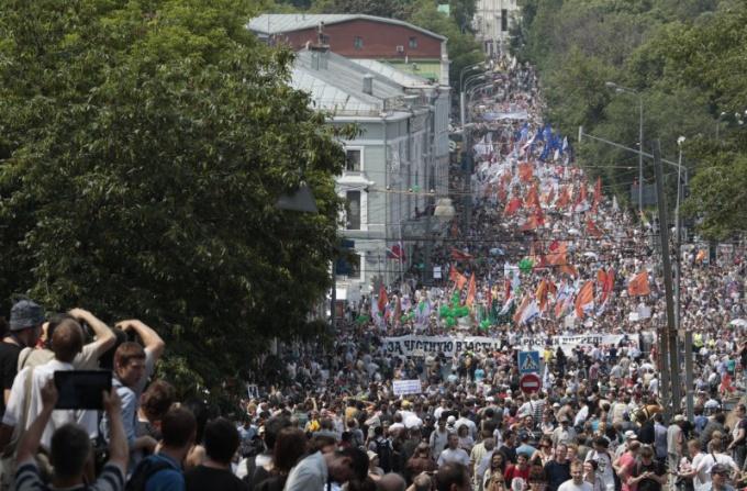 Как прошел митинг 12 июня