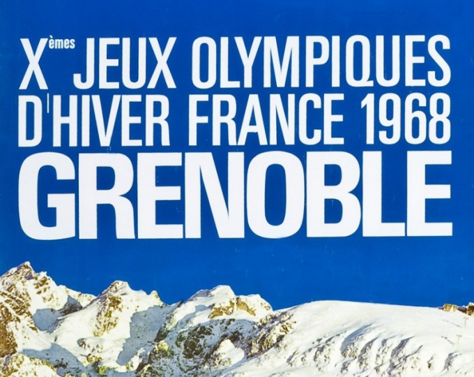 Как прошла Олимпиада 1968 года в Гренобле