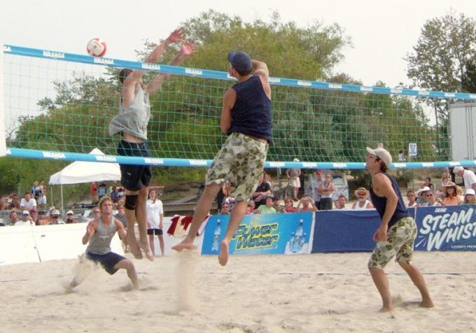 Летние олимпийские виды спорта: пляжный волейбол