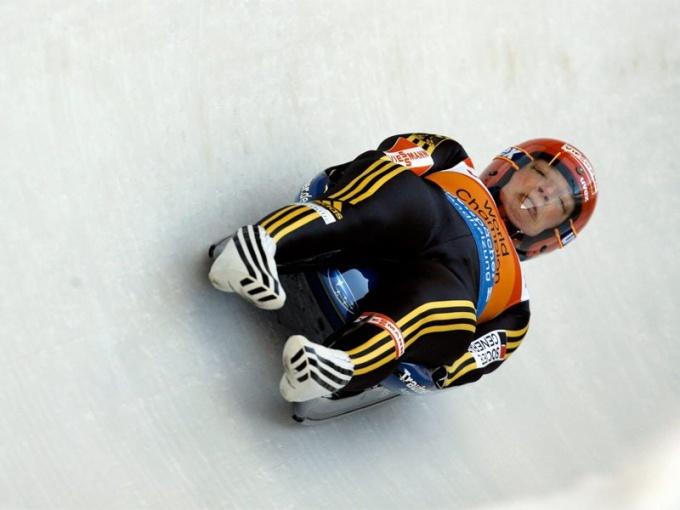 Зимние олимпийские виды спорта: санный спорт