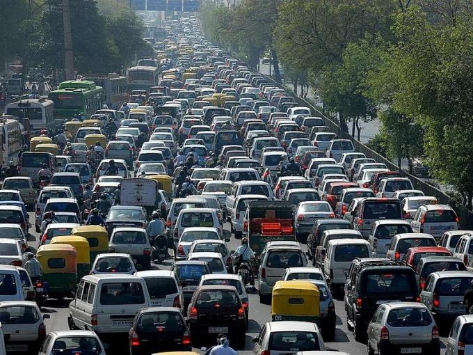 Как избежать пробок на дороге