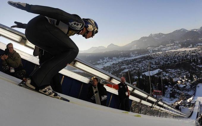 Зимние олимпийские виды спорта: лыжное двоеборье