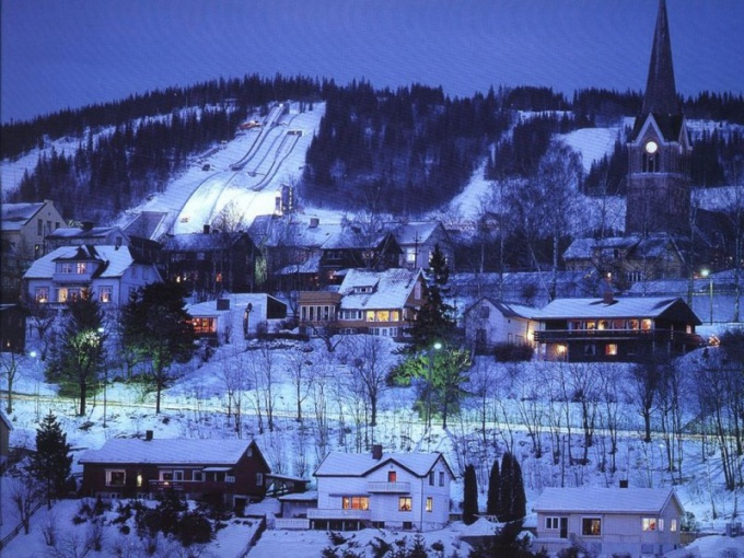 Зимняя Олимпиада 1952 года в Осло