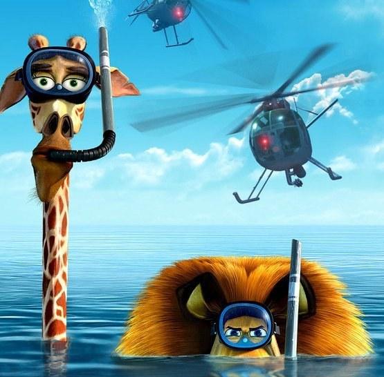 Кто озвучивал Мадагаскар-3