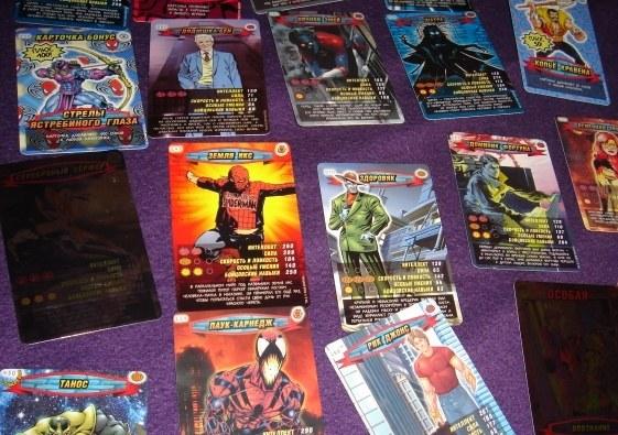 """Где найти карточки с героями """"Человек-паук"""""""
