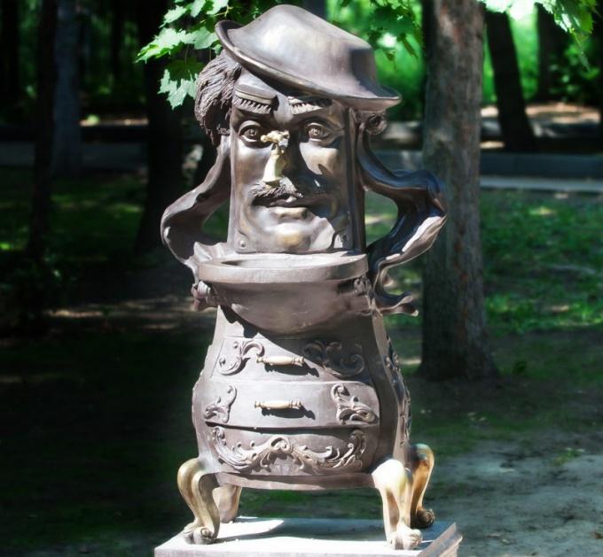 Как открывали памятник Мойдодыру в Москве