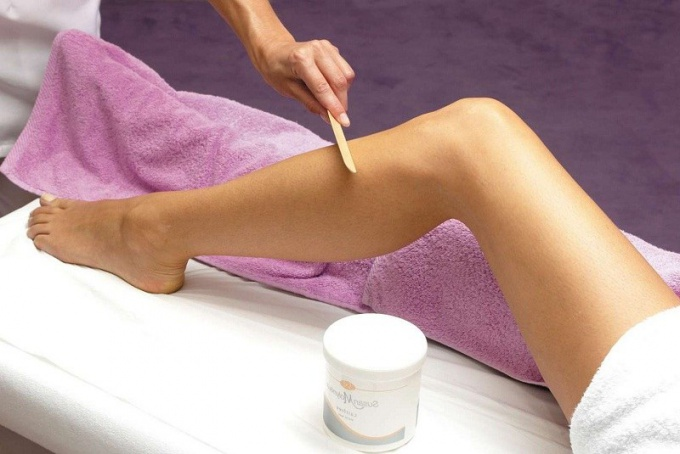 What are the advantages of caramel depilation before wax