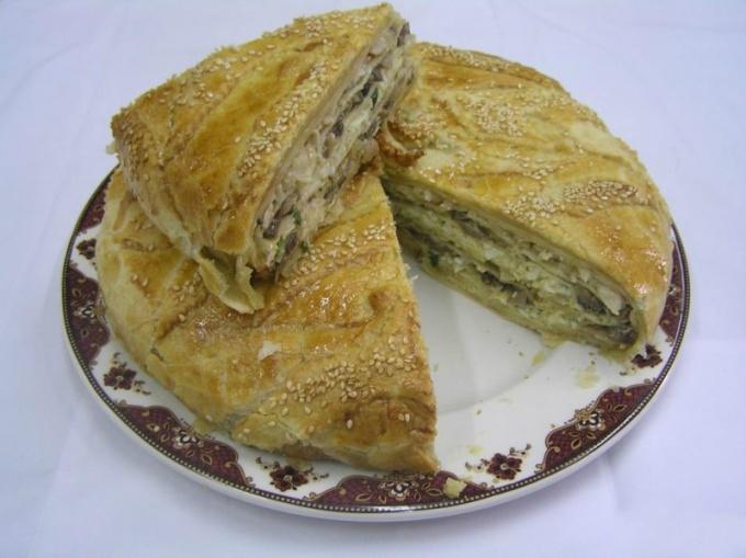 Как делать пирог-курник