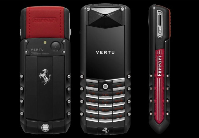 Кому принадлежит бренд Vertu