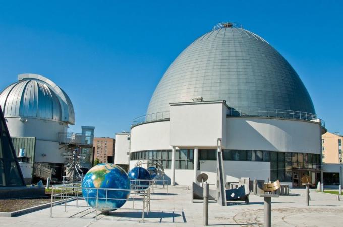 Что можно увидеть в московском планетарии