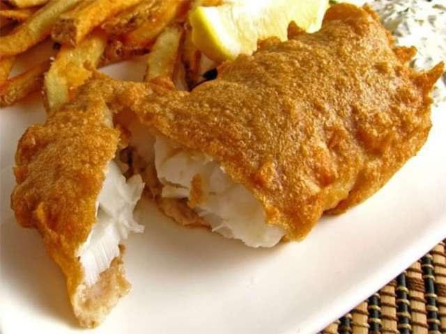 Как приготовить рыбу в пивном кляре