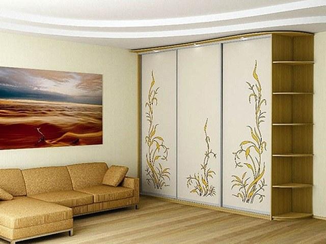 Как декорировать дверь для шкафа-купе