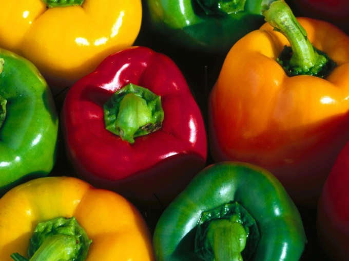 Как подготовить болгарский перец