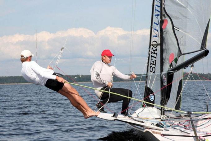 Летние олимпийские виды спорта: парусный спорт