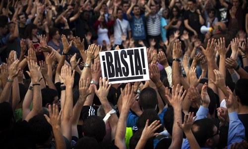 Почему в Испании проходят акции протеста