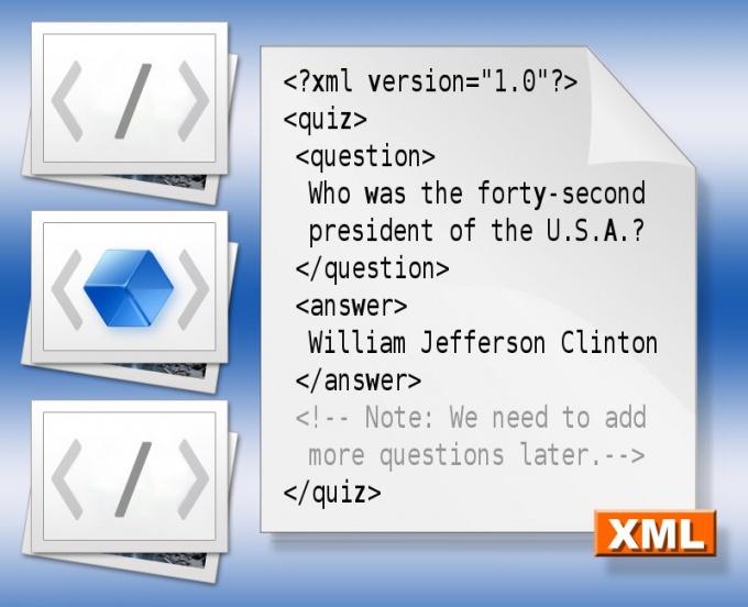 Как установить XML-файл