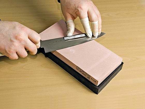 Как отшлифовать нож