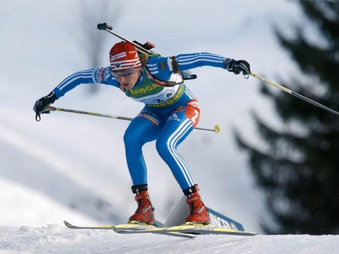 Зимние олимпийские виды спорта: биатлон