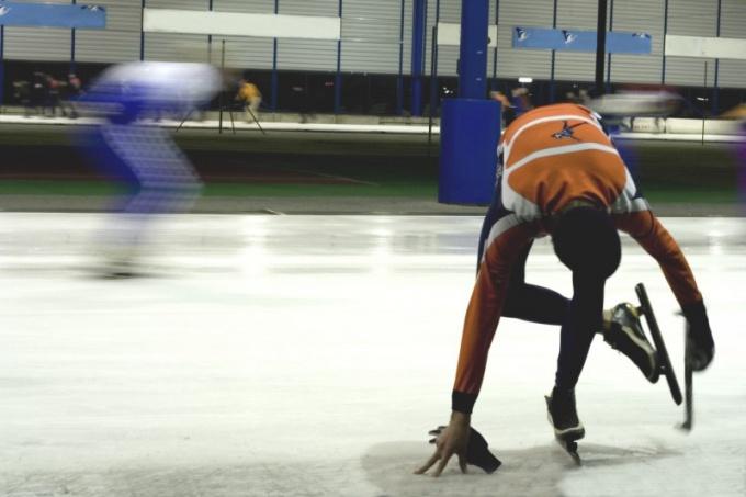 Зимние олимпийские виды спорта: конькобежный спорт