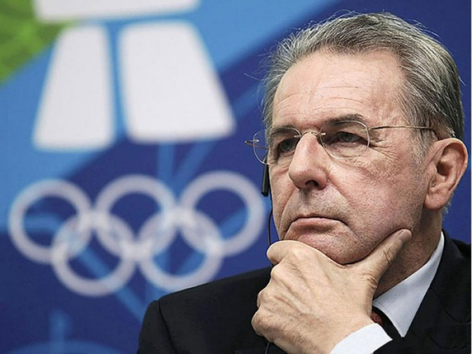 Who heads the IOC