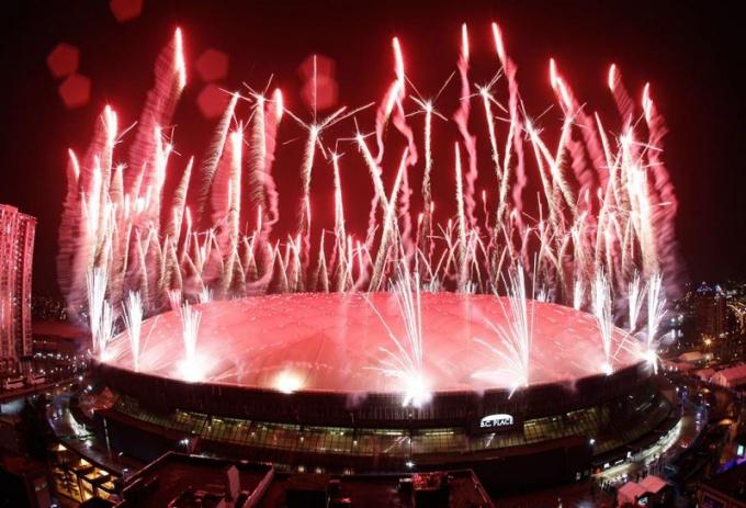 Как проходит открытие Олимпийских игр