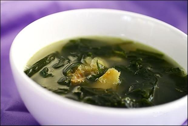 Как приготовить рыбный суп с морской капустой