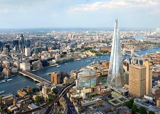 Где находится самый высокий небоскреб в Европе