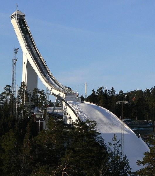 Зимние олимпийские виды спорта: прыжки с трамплина