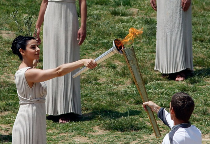 Что такое Олимпийский огонь