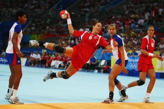 Летние олимпийские виды спорта: гандбол