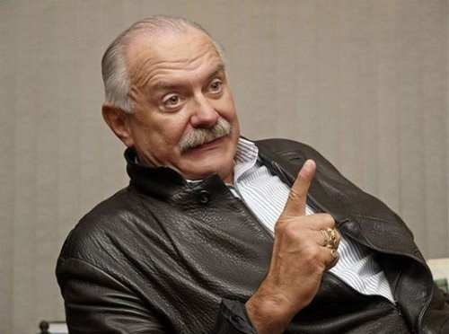 What party was created by the supporters of Nikita Mikhalkov